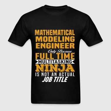 Mathematical Modeling Engineer - Men's T-Shirt