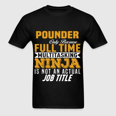 Pounder - Men's T-Shirt
