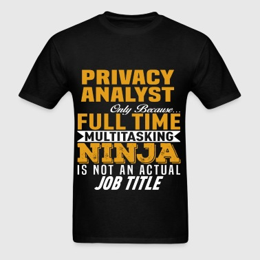 Privacy Analyst - Men's T-Shirt