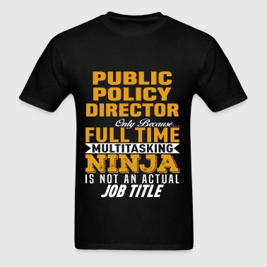 Public Policy Director - Men's T-Shirt