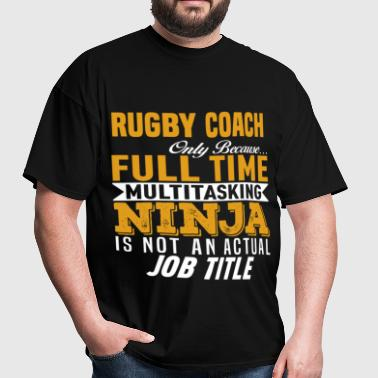 Rugby Coach - Men's T-Shirt