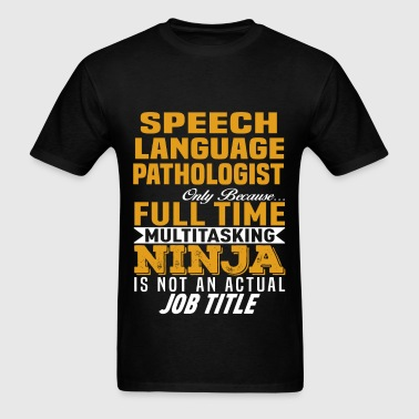 Speech Language Pathologist - Men's T-Shirt