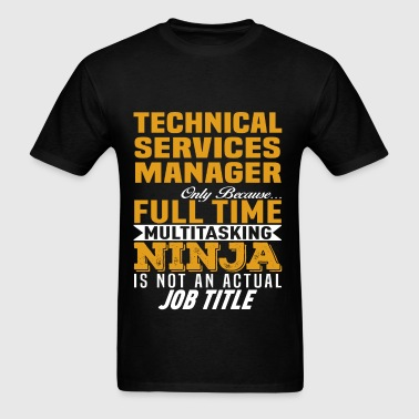 Technical Services Manager - Men's T-Shirt