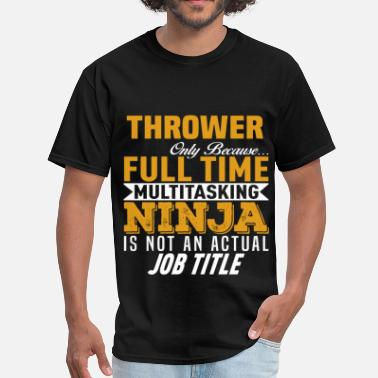 Thrower Funny Thrower - Men's T-Shirt