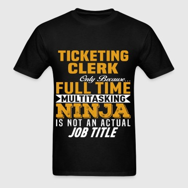 Ticketing Clerk - Men's T-Shirt