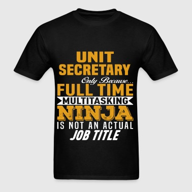 Unit Secretary - Men's T-Shirt