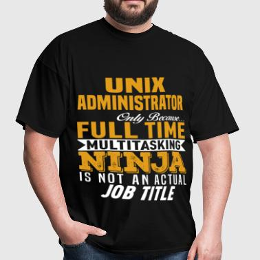 Unix Administrator - Men's T-Shirt