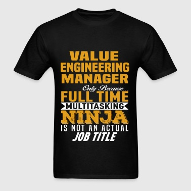Value Engineering Manager - Men's T-Shirt