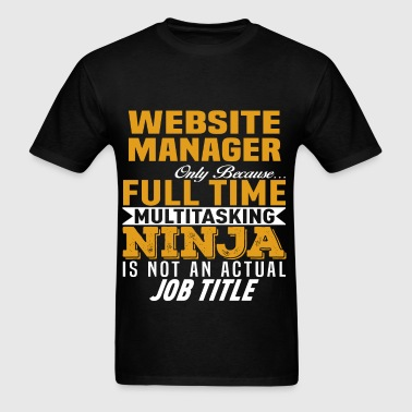 Website Manager - Men's T-Shirt