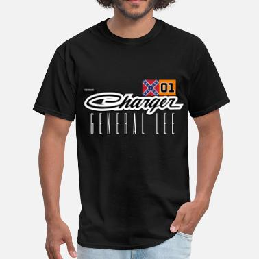 General Dodge Charger Confederate General Lee - Men's T-Shirt