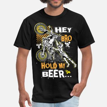 Hold My Beer Hold My Beer Motocross - Men's T-Shirt