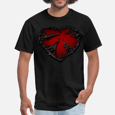 Broken dark heart - Men's T-Shirt