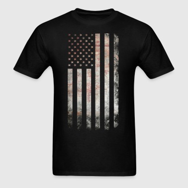 Vintage USA Flag - Men's T-Shirt