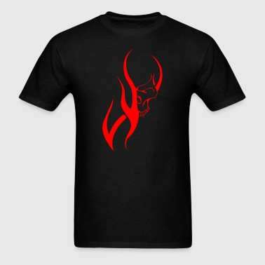 Flame Skull - Men's T-Shirt