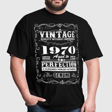 Premium Vintage 1970 Aged To Perfection - Men's T-Shirt
