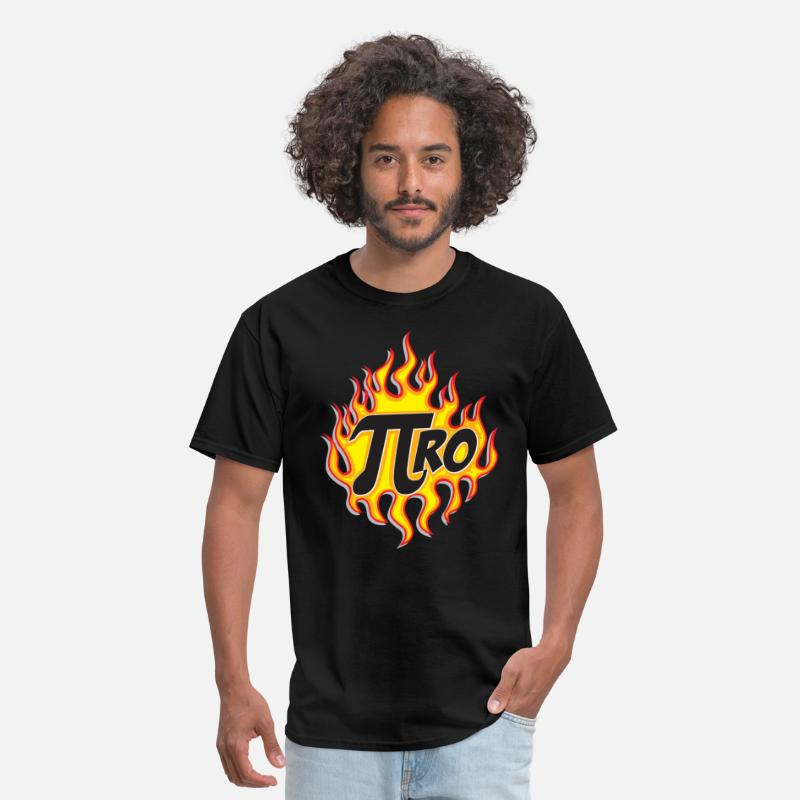 Geek T-Shirts - Pi Ro - Men's T-Shirt black