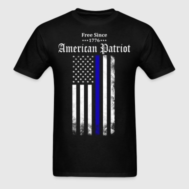 Free Since 1776 - American Patriot - Men's T-Shirt