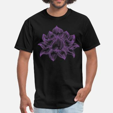 Lotus lotus tattoo - Men's T-Shirt