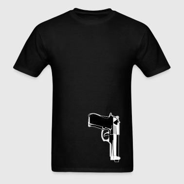 9mm Gun - Men's T-Shirt