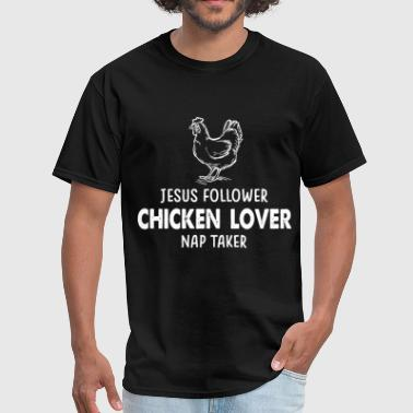 jesus follower chicken jesus - Men's T-Shirt