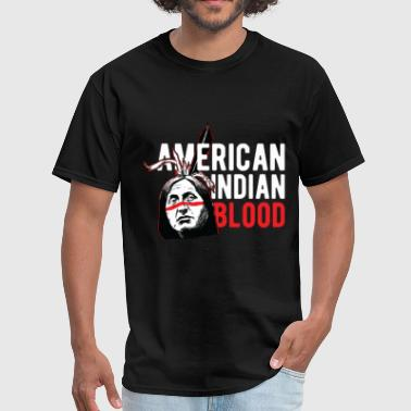 Indians - American Indian Blood - Men's T-Shirt