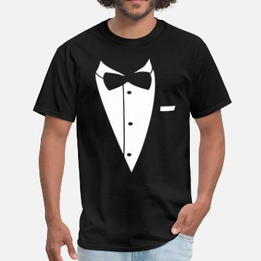 Baby Wear Cats Tuxedo baby onepiece great to wear to church weddi - Men's T-Shirt