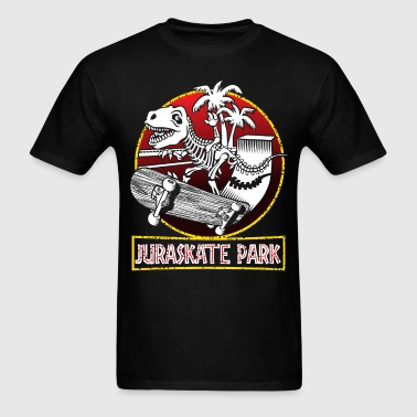 Juraskate park - Men's T-Shirt
