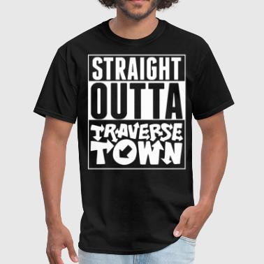 Straight Outta Traverse Town - Men's T-Shirt