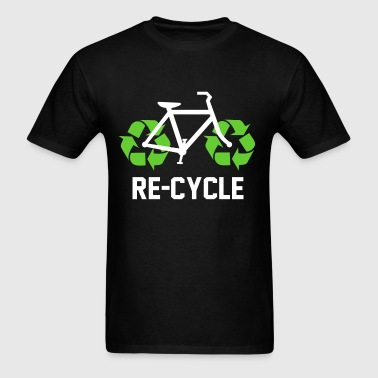 recycle_bicycle - Men's T-Shirt
