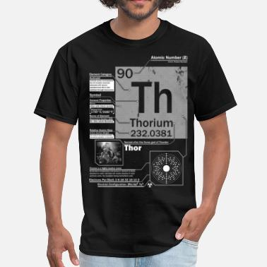 Chris Hemsworth Thorium t shirt - Men's T-Shirt