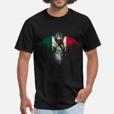 Mexico Flag Graffiti mexico - Men's T-Shirt
