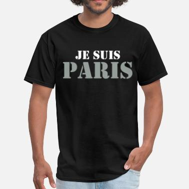 Je Suis Paris Je Suis Paris - Men's T-Shirt