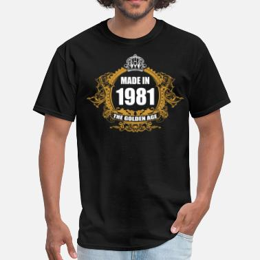 1981 Aged Made in 1981 The Golden Age - Men's T-Shirt