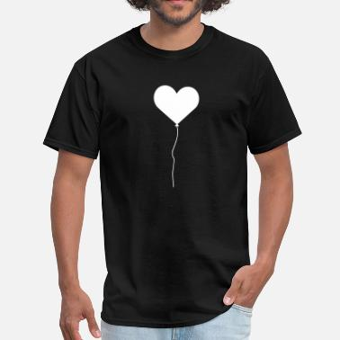 Heart Balloon Heart Balloon - Men's T-Shirt