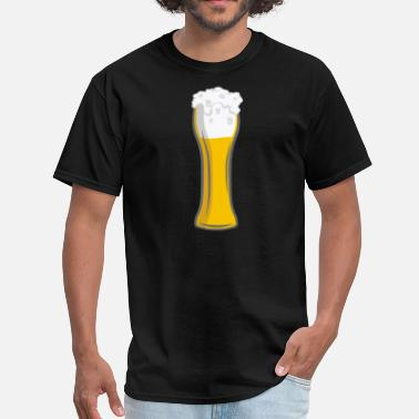 No Beer No Cheer Beer Cheer Cheers Beers Glass of beer  - Men's T-Shirt