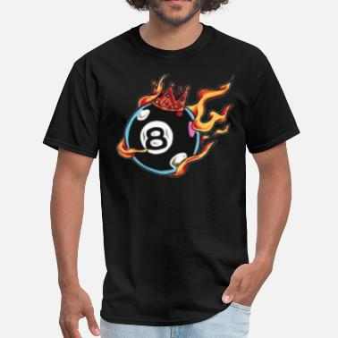 8 Ball behind the 8 ball - Men's T-Shirt