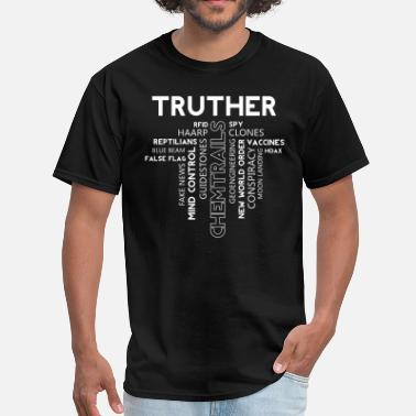 Truther Truther Word Cloud - Men's T-Shirt