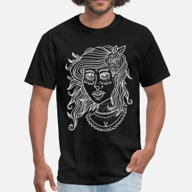 Traditional Traditional Woman - Men's T-Shirt