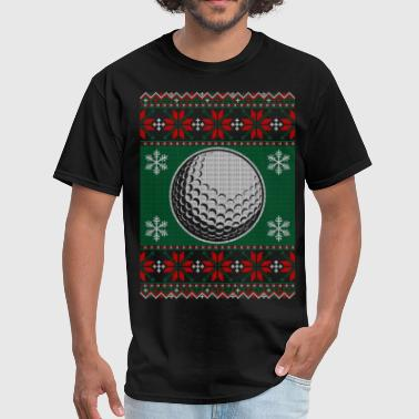 Ball-sweaters Golf Ball Ugly Christmas Sweater - Men's T-Shirt