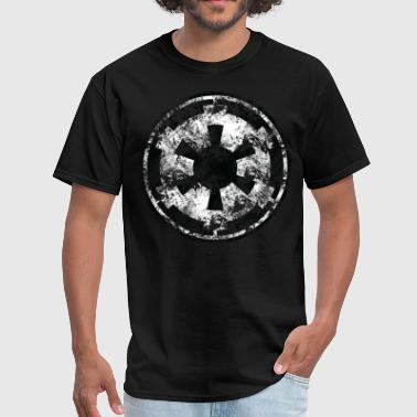 Battered Galactic Empire symbol - Men's T-Shirt