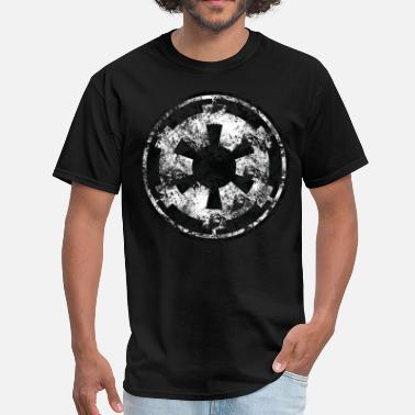 Galactic Battered Galactic Empire symbol - Men's T-Shirt