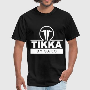 TIKKA by SAKO Firearms Gun Logo Mens Long Sleeve B - Men's T-Shirt