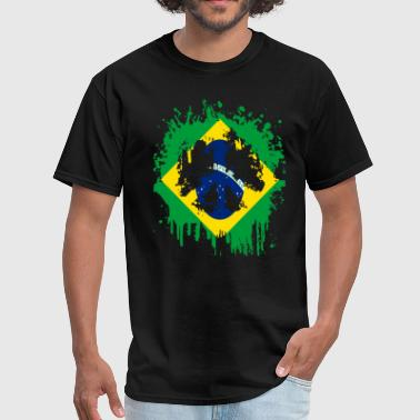 Brazil peace_brazil - Men's T-Shirt