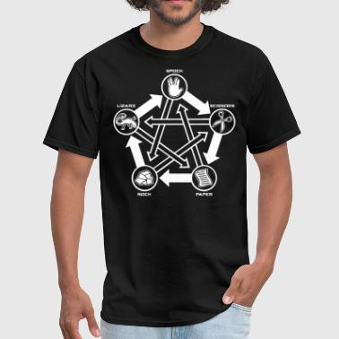Spock Rock Paper Scissors Lizard Spock - Men's T-Shirt