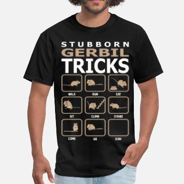 Gerbil Pet Stubborn Gerbil Tricks Pets Love Funny Tshirt - Men's T-Shirt