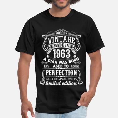 Birthday-1963 Vintage 1963 - Men's T-Shirt