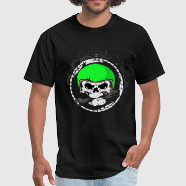 Meche Mech Skull - Men's T-Shirt