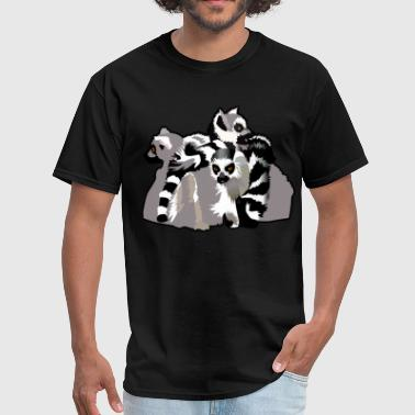 Madagascar Lemurs - Men's T-Shirt