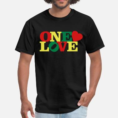 One Love One Love - Men's T-Shirt