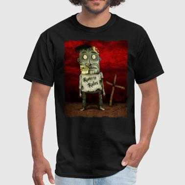 George A Romero George Romero Zombie Fan - Men's T-Shirt